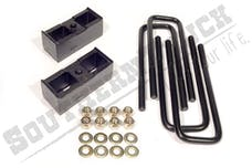 "Southern Truck 15031 3"" Rear Block Kit with U-Bolts"