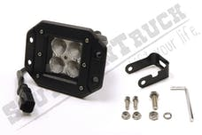 Southern Truck 79910 3-inch X 3-inch 16W Square Flush Mount LED Light Flood