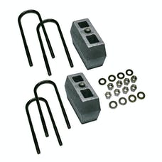 Superlift 9349 4 inch Block Kit with Top Mounted Overload Leaf