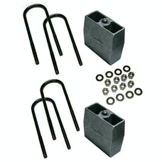 Superlift 9359 5 inch Block Kit with Top Mounted Overload Leaf
