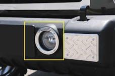 T-Rex Grilles 11486 T1 Exterior Trim, Brushed, Aluminum, 2 Pc, Bolt-On