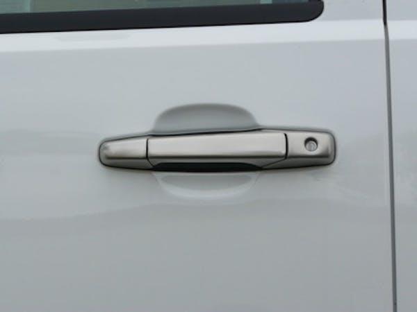 TFP 202KEBR Truck & SUV Door Handle Insert Stainless Steel Brushed Finish