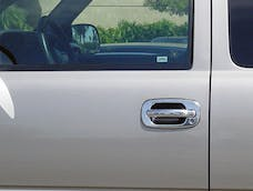 TFP 401 Truck & SUV Door Handle Insert Stainless Steel Chrome Finish