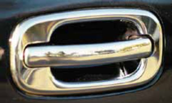 TFP 402 Truck & SUV Door Handle Insert Stainless Steel Chrome Finish