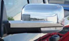 TFP 554 Truck & SUV Mirror Insert Plastic Chrome Finish