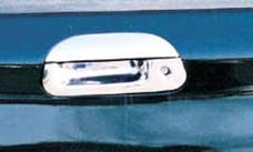 TFP 620 Tailgate Handle Insert with Keyhole Stainless Steel Chromed Finish
