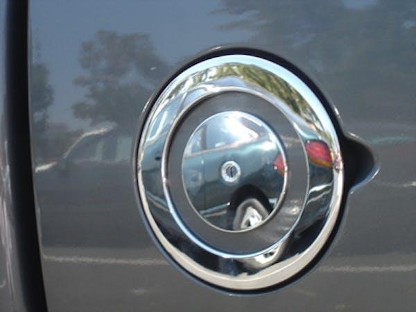 TFP 800 Fuel Door Insert  Plastic Chromed Finish