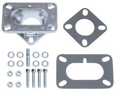 "Trans Dapt Performance 2025 1-5/8"" Tall, 2BBL Carb to 1BBL Manifold Carburetor Adapter -Cast Aluminum"