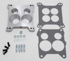 "Trans Dapt Performance 2034 7/8"" Tall, Holley 4BBL to Quadrajet Manifold Carburetor Adapter -Cast Aluminum"