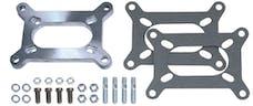 "Trans Dapt Performance 2086 1/2"" Tall, 2BBL Carb to 2BBL Manifold Carburetor Adapter -Cast Aluminum"