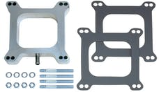 """Trans Dapt Performance 2103 1"""" Tall, HOLLEY/AFB 4BBL SPACER with PCV -Open- CAST ALUMINUM Carburetor Spacer"""