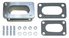 "Trans Dapt Performance 2107 1-3/4"" Tall, Weber DGV to Datsun, Toyota Carburetor Adapter -Cast Aluminum"