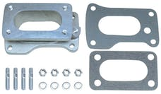 "Trans Dapt Performance 2120 1-3/4"" Tall, Weber DGV to Toyota 20R Carburetor Adapter -Cast Aluminum"
