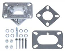 "Trans Dapt Performance 2125 1-5/8"" Tall, Weber DGV to Jeep Carburetor Adapter -Cast Aluminum"