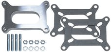 """Trans Dapt Performance 2134 1/2"""" Tall, HOLLEY 2BBL SPACER -Open- CAST ALUMINUM Carburetor Spacer"""
