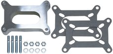 """Trans Dapt Performance 2135 1"""" Tall, HOLLEY 2BBL SPACER -Open- CAST ALUMINUM Carburetor Spacer"""