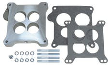 "Trans Dapt Performance 2199 15/16"" Tall, Holley 4BBL to Ford Manifold Carburetor Adapter -Cast Aluminum"