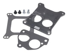 Trans Dapt Performance 2201 BB Chevy TBI on to Holley 4BBL Manifold- REAR MOUNT Carburetor to TBI Adapter
