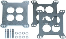 """Trans Dapt Performance 2280 3/8"""" Tall, HOLLEY/AFB 4BBL SPACER -Ported- CAST ALUMINUM Carburetor Spacer"""
