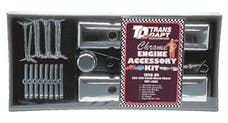 "Trans Dapt Performance 3040 ""CLASSIC STYLE"" Engine Kit; TALL Valve Covers; 58-86 CHEVROLET 283-350-CHROME"