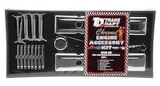 """Trans Dapt Performance 3041 """"O.E.M. STYLE"""" Engine Kit; SHORT Valve Covers; 58-86 CHEVROLET 283-350-CHROME"""
