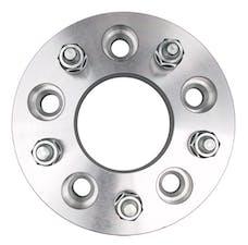 "Trans Dapt Performance 3615 5 LUG Wheel Spacers; 5"" Bolt Circle; 12mmx1.5 Threads (pr)- ALUMINUM"