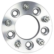 "Trans Dapt Performance 3620 5 LUG Wheel Adapters;5"" WHEEL Dia;135mm HUB Dia;12mmx1.5 Thread (pr)- ALUMINUM"