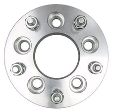 "Trans Dapt Performance 3621 5 LUG Wheel Adapters;135mm WHEEL Dia;4.75"" HUB Dia;12mmx1.5 Thread (pr)-ALUMINUM"
