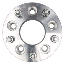 "Trans Dapt Performance 3622 5 LUG Wheel Adapters;135mm WHEEL Dia;5"" HUB Dia;12mmx1.5 Thread (pr)- ALUMINUM"