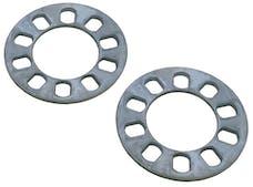 "Trans Dapt Performance 4082 5 LUG Disc Brake Spacers; 4-1/2"" to 5"" Bolt Circle Diameters; 1/4"" Thick (Pr)"