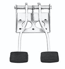 Trans Dapt Performance 4149 DUAL SWING PEDALS (Universal fit); Fits Various Bendix Master Cylinders