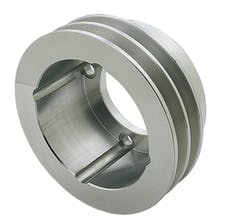 Trans Dapt Performance 6995 CRANKSHAFT Pulley; 2 Groove; OLDSMOBILE 330-455- Mach. ALUMINUM