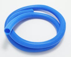 """Trans Dapt Performance 7595 BLUE Wire Harness; Convoluted; 3/4"""" Diameter- (5 ft)"""