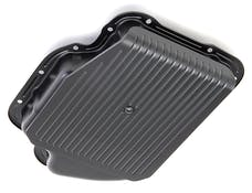 Trans Dapt Performance 8654 GM Turbo 400 SLAM-GUARD Transmission Pan (Stock Capacity)- ASPHALT BLACK