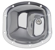 Trans Dapt Performance 9035 DANA 30 Thick (10 Bolt), Complete Chrome Differential Cover Kit