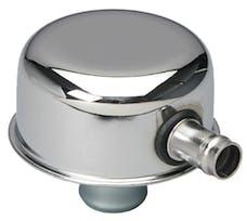 "Trans Dapt Performance 9241 ""PUSH-IN"" Style Breather Cap w/TUBE (w/Grommet); 2-3/4"" Overall Diameter -CHROME"