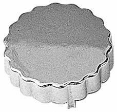 Trans Dapt Performance 9257 POWER STEERING RESERVOIR CAP Cover; Saginaw Pumps-CHROMED Plastic