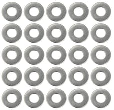 "Trans Dapt Performance 9275 1/4"" Valve Cover Flat Washers (25 per pkg.)- STAINLESS STEEL"