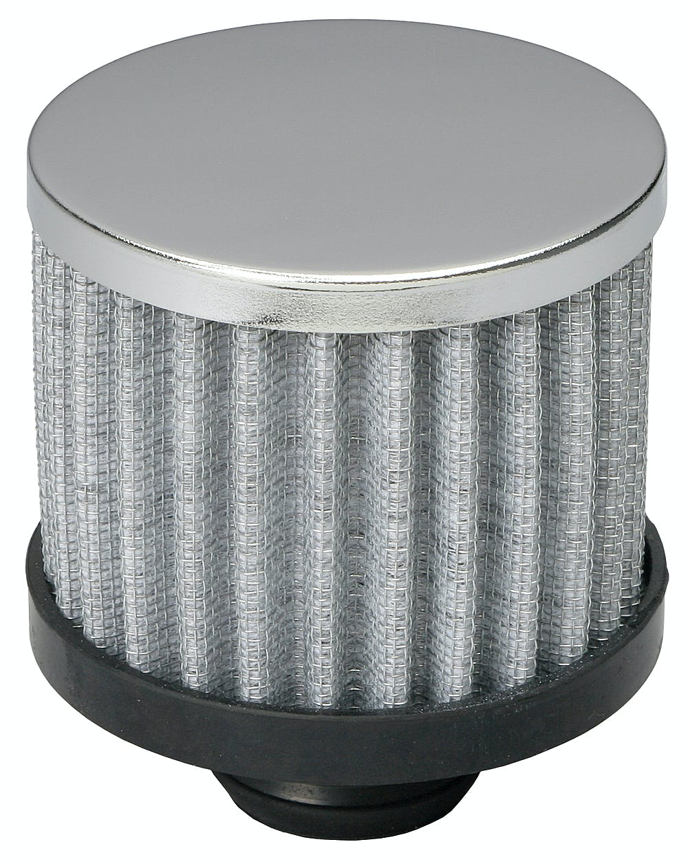 "Trans-Dapt Performance 4803 Valve Cover Breather Cap Twist-In 2 3//8/"" Dia Chrome"