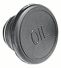 "Trans Dapt Performance 9373 VALVE COVER ""OIL"" PLUG; 1-1/4"" Hole; Chevy/GM Vehicles- RUBBER"