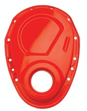 Trans Dapt Performance 9915 CHEVY ORANGE Timing Chain Cover (only)- Chevy 4.3L V6 or SB V8 (not for LT1)