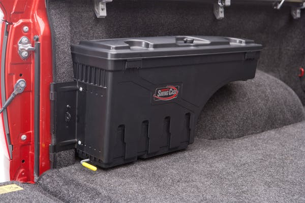 UnderCover SC401D Swing Case Storage Box Drivers Side Black Smooth