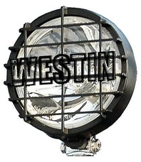 WESTiN Automotive 09-05051 6 in Quartz-Halogen Off-Road Lights with Grid Black (1 Light Only)