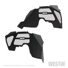 WESTiN Automotive 62-11005 Inner Fenders - Front Textured Black