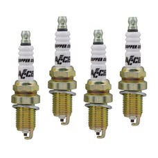 ACCEL 0414S-4 High Performance Shorty Spark Plug, 4pk