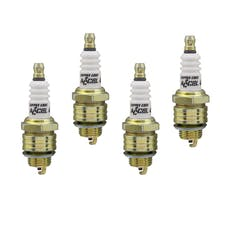 ACCEL 0437S-4 High Performance Copper Core Spark Plug, 4pk