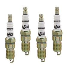 ACCEL 0526-4 High Performance Copper Core Spark Plug, 4pk
