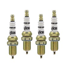 ACCEL 0736-4 High Performance Copper Core Spark Plug, 4pk