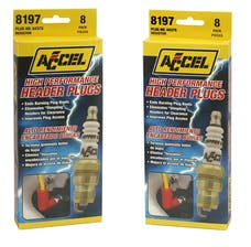 ACCEL 8197 HEADER,PLUG 8-DISPLAY #0437S