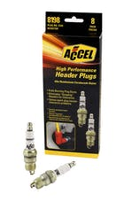 ACCEL 8198 HEADER,PLUG 8-DISPLAY #0574S